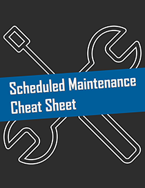 Maintenance Cheat Sheet